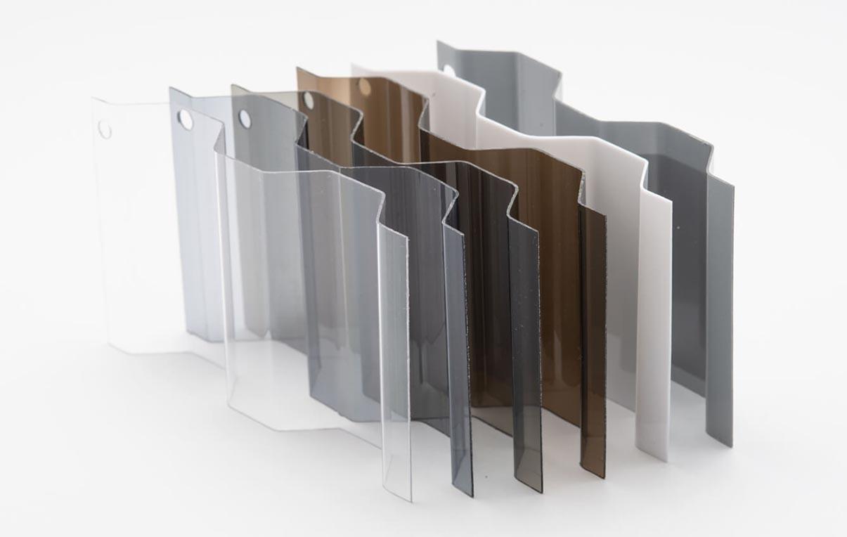 tấm nhựa lấy sáng dạng tôn sóng